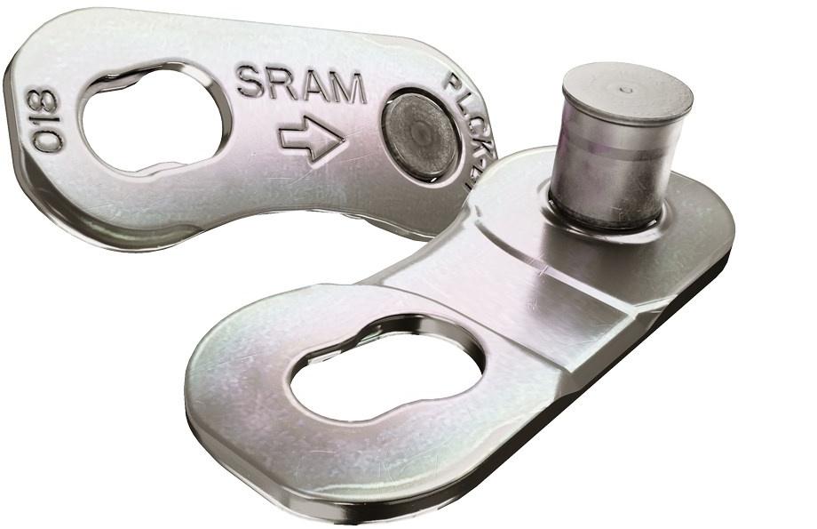 Sram PowerLock D1 12 - silver uni