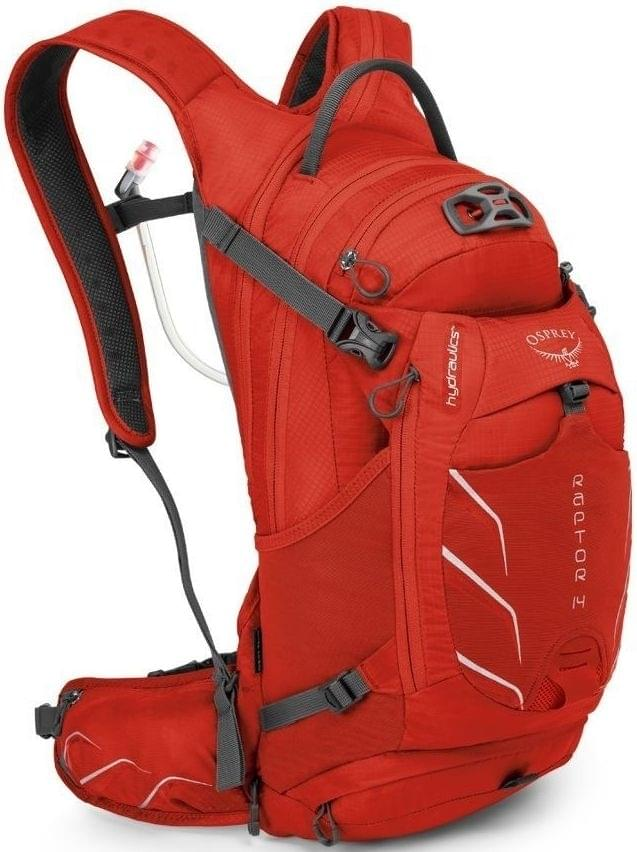 Osprey Raptor 14 - red pepper uni