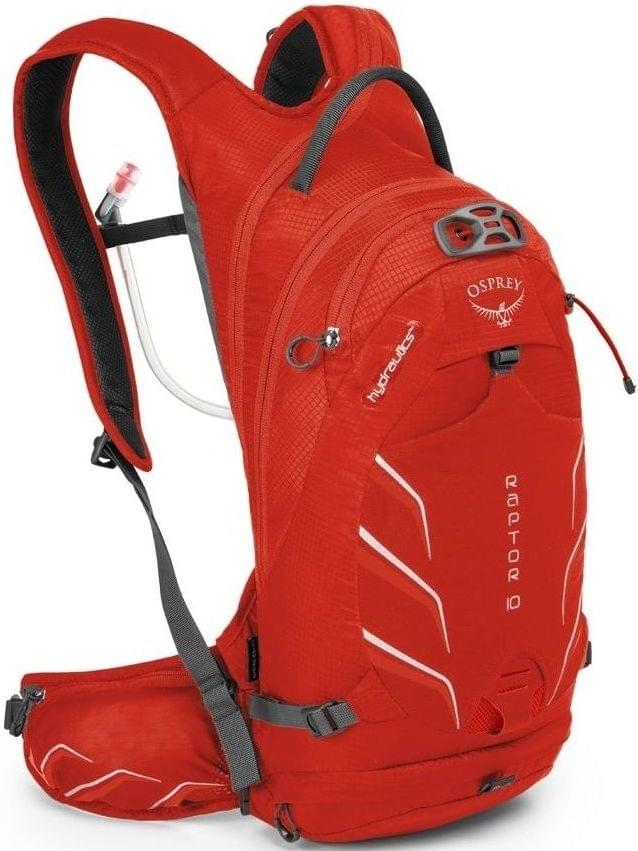 Osprey Raptor 10 - red pepper uni
