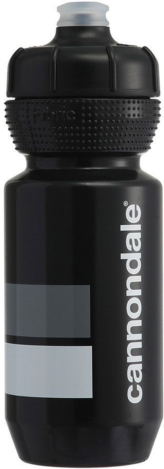 Cannondale Block Gripper Bottle 600 ml - black/white uni