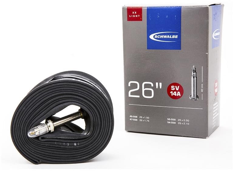 Schwalbe SV14A 26x1,5-2,10 presta/galuskový ventilek 40mm