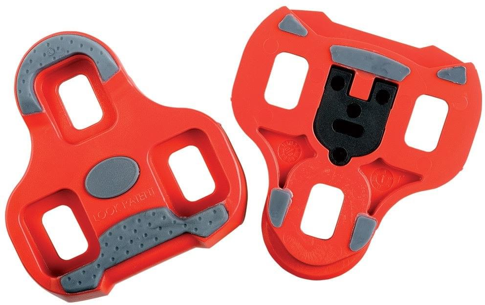 Look KEO Grip Cleats – red uni
