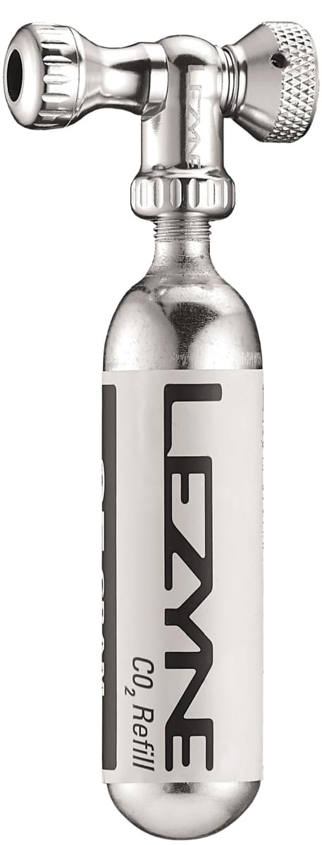Lezyne Control Drive CO2 Silver/Hi Gloss uni