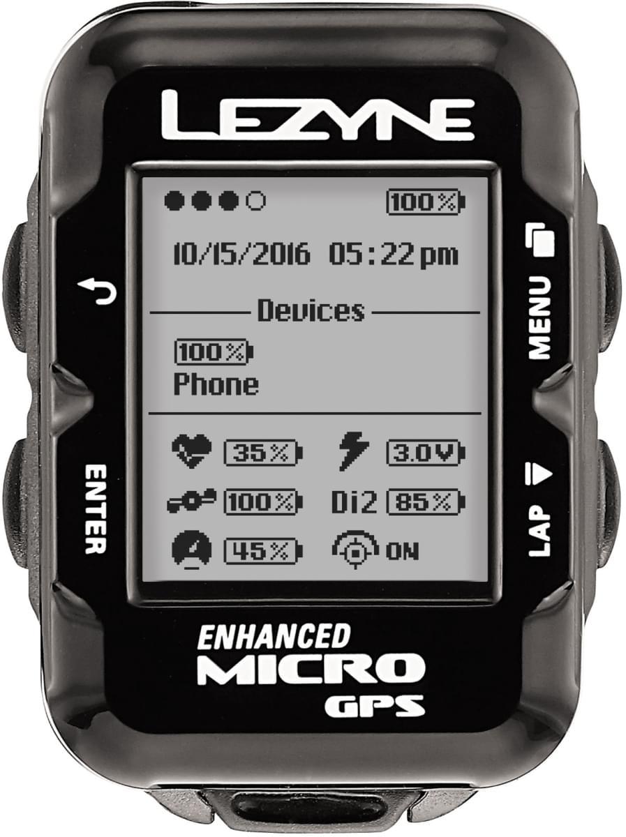 Lezyne Micro Gps - black uni