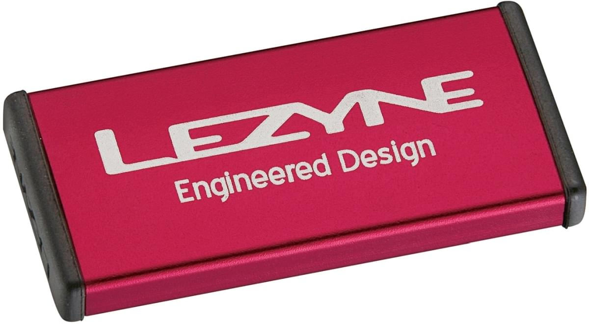 Lezyne Metal Kit - red/hi gloss uni