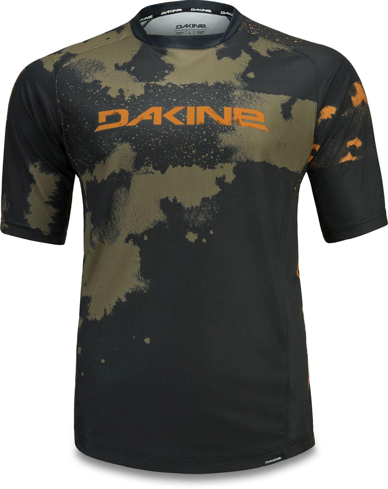 Dakine Thrillium S/S Jersey - dark olive XL