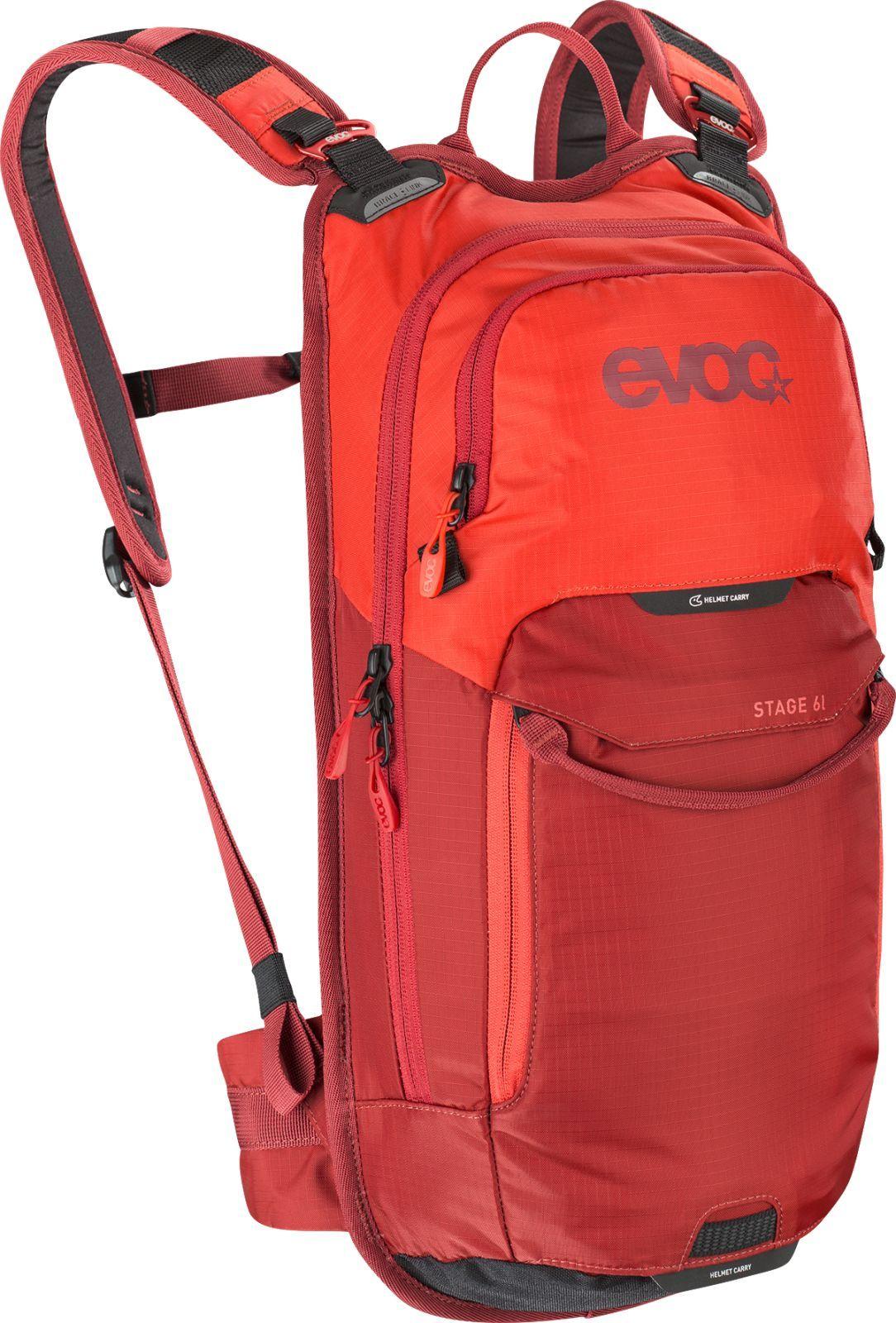 Evoc Stage 6L + 2L Bladder - orange/chili red uni