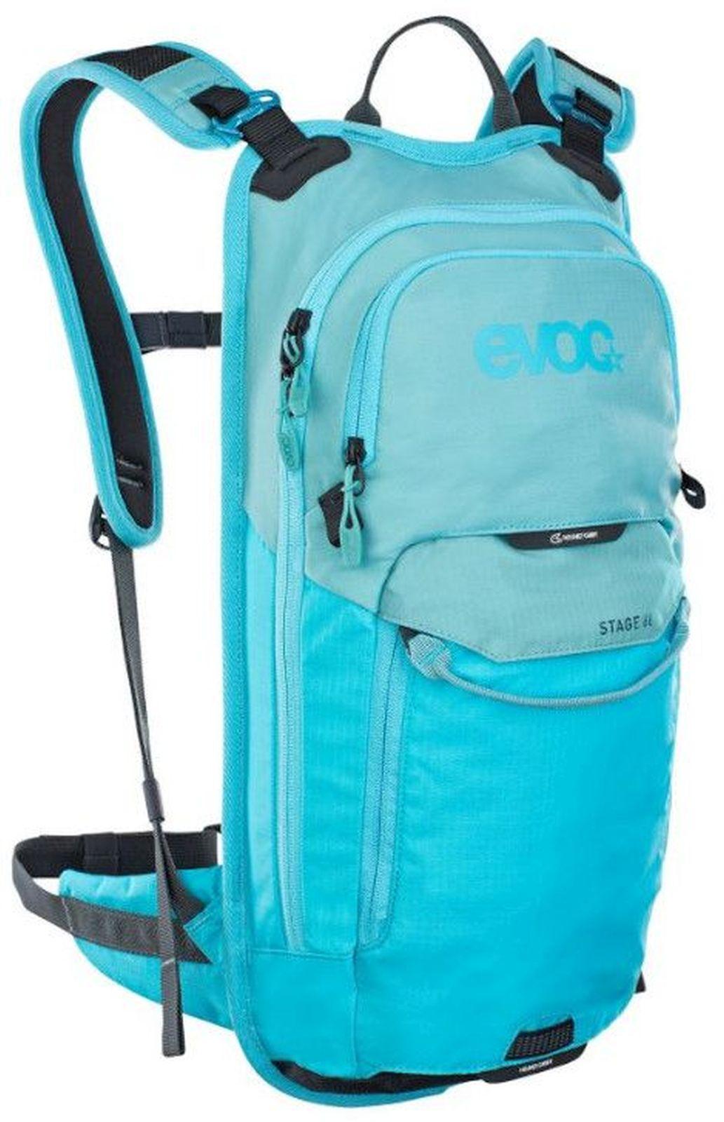Evoc Stage 6L - aque blue/neon blue uni