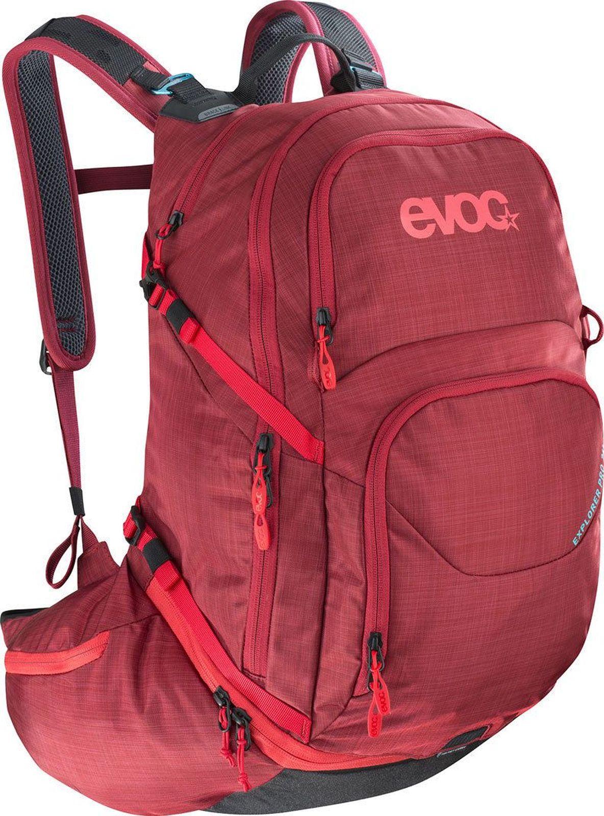 Evoc Explorer Pro 26L - heather ruby uni
