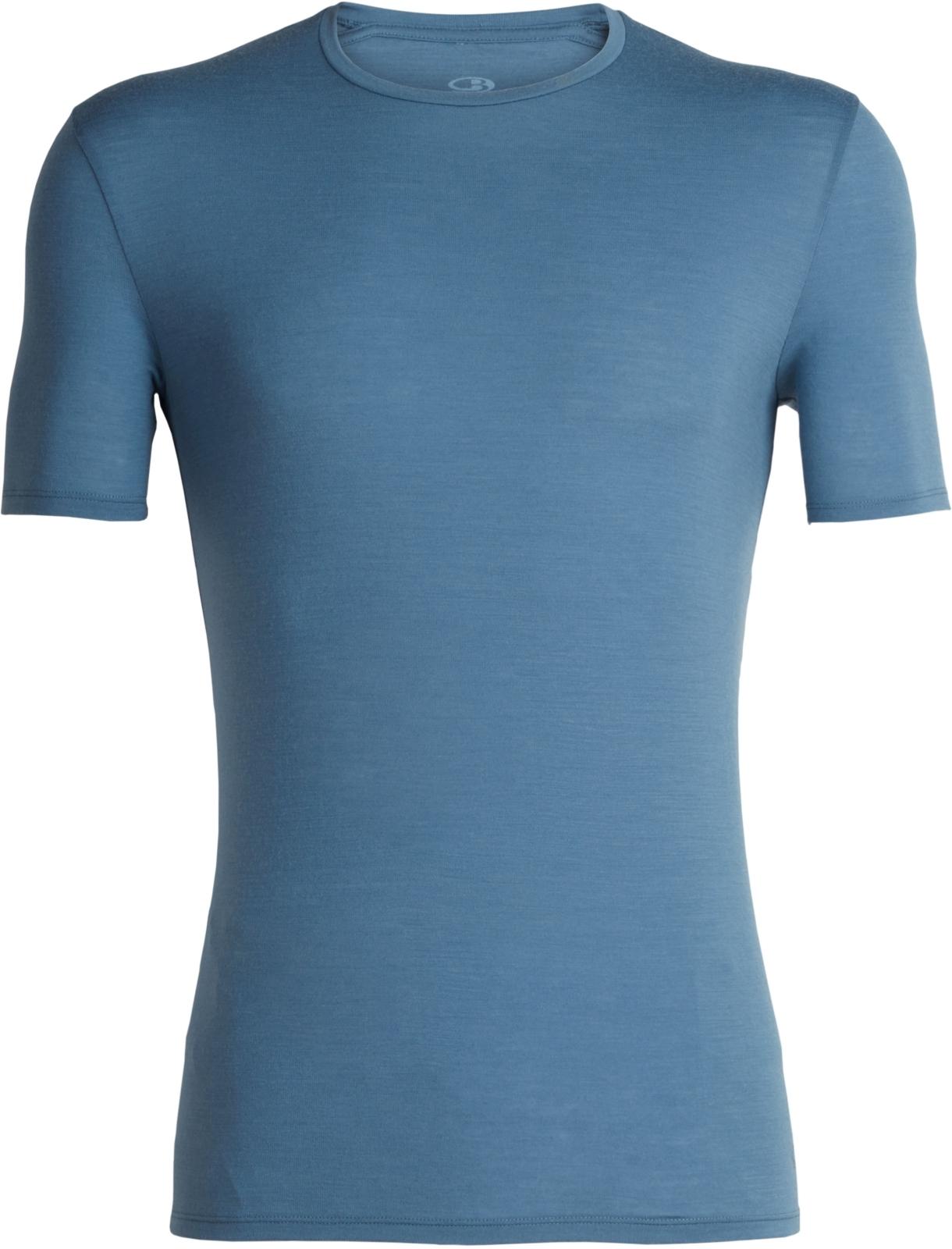 Pánské funkční triko s krátkým rukávem Icebreaker Mens Anatomica SS Crewe -  granite blue 9fb045c6b8