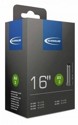 """Schwalbe 16"""" AV3 47/62-305 auto-ventilek uni"""