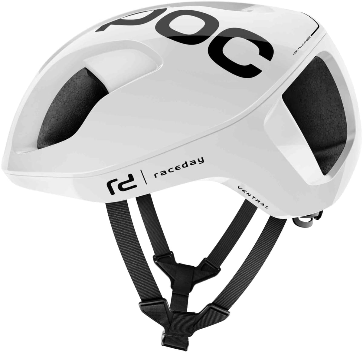 POC Ventral SPIN - hydrogen white raceday S