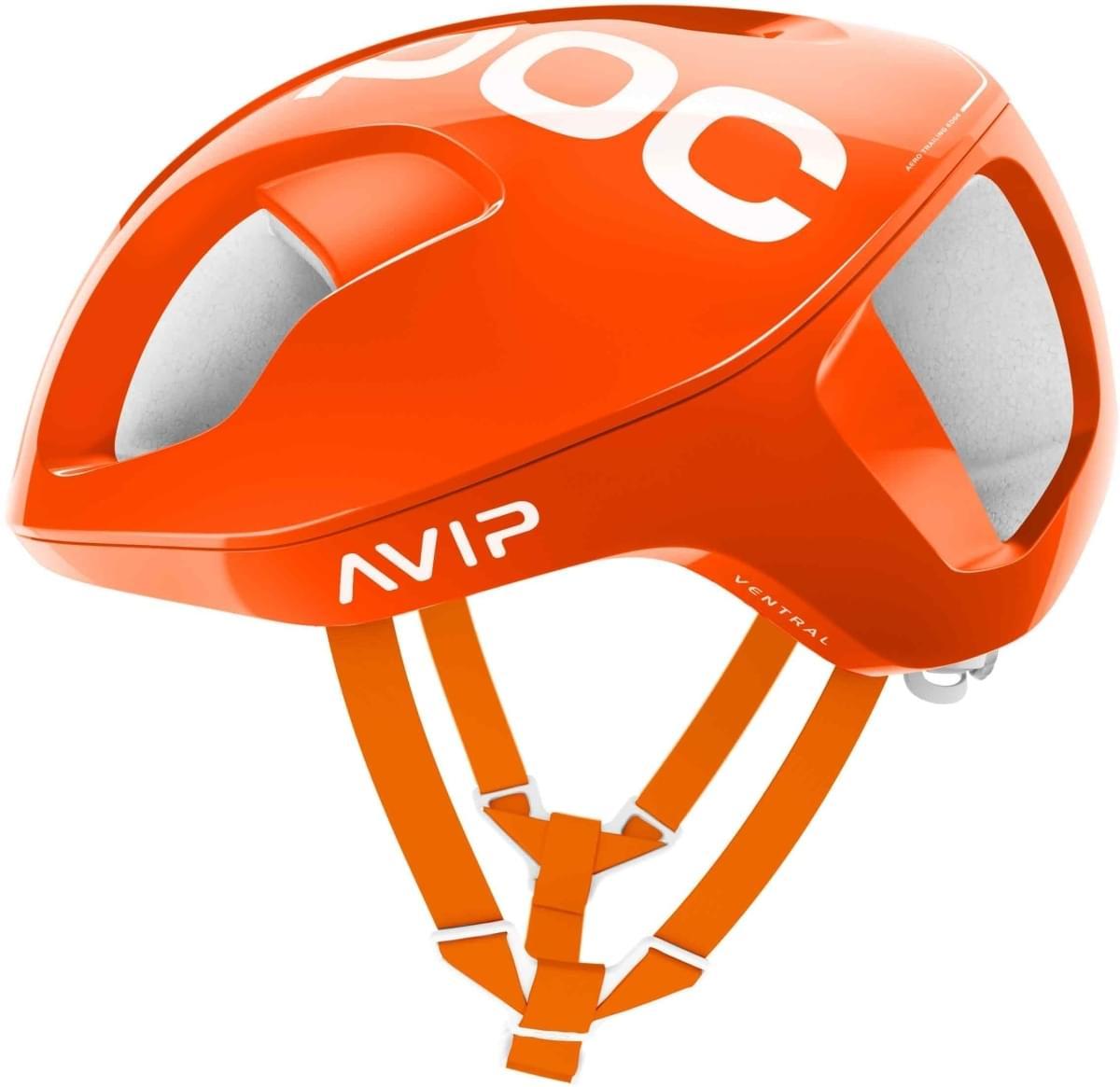 POC Ventral SPIN - zink orange avip S