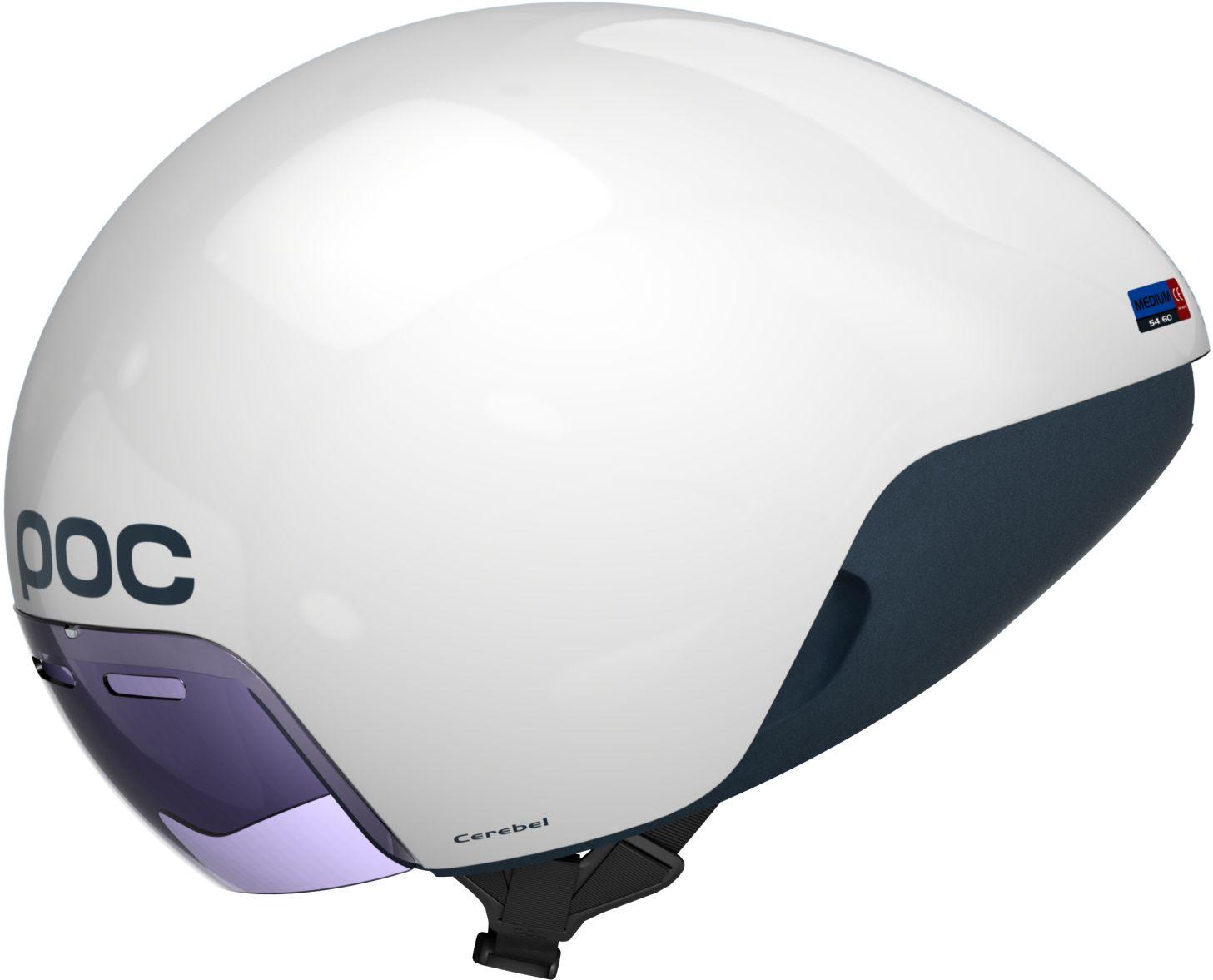 POC Cerebel - Hydrogen White (MED) 54-60