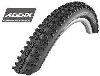 Schwalbe Smart Sam  37-622 new Addix Performance černá+reflexní pruh 700X37