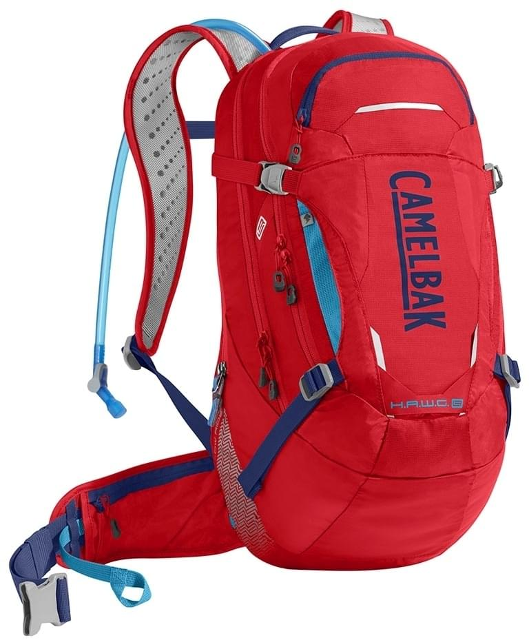 fdaa3007dfc Cyklistický batoh Camelbak Hawg LR 20 - Racing Red Pitch Blue - Ski ...