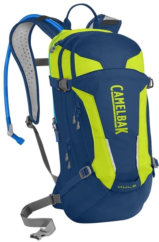 Cyklistický batoh Camelbak MULE - pitch blue lime punch - Ski a Bike ... 657e6a44bc