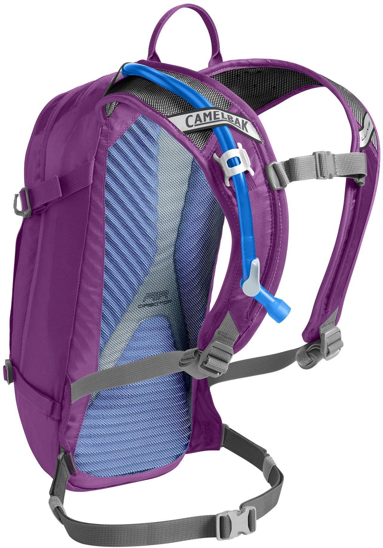 Dámský cyklistický batoh Camelbak Luxe - Light Purple Charcoal - Ski ... 7b38369c65