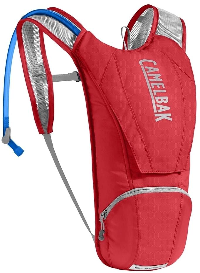 Camelbak Classic - racing red/silver uni