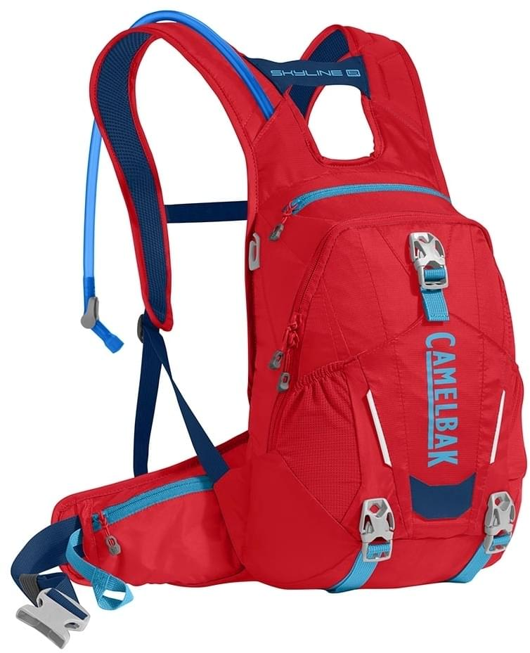 Camelbak Skyline LR 10 - racing red/pitch blue uni