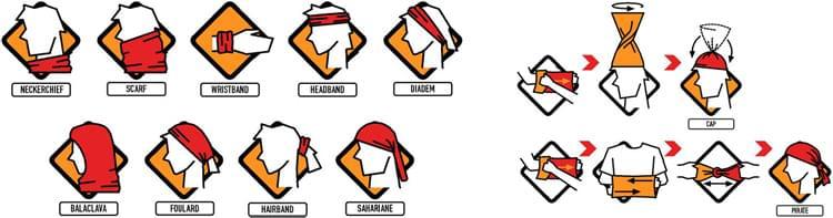 b855509197f Multifunkční šátek Buff Reflective - R-Multi Logo Orange Fluor - Ski ...