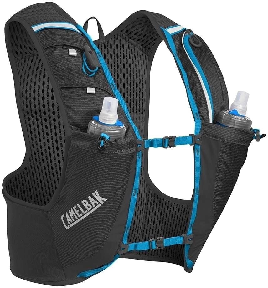 Camelbak Ultra PRO Vest - Black/Atomic Blue L