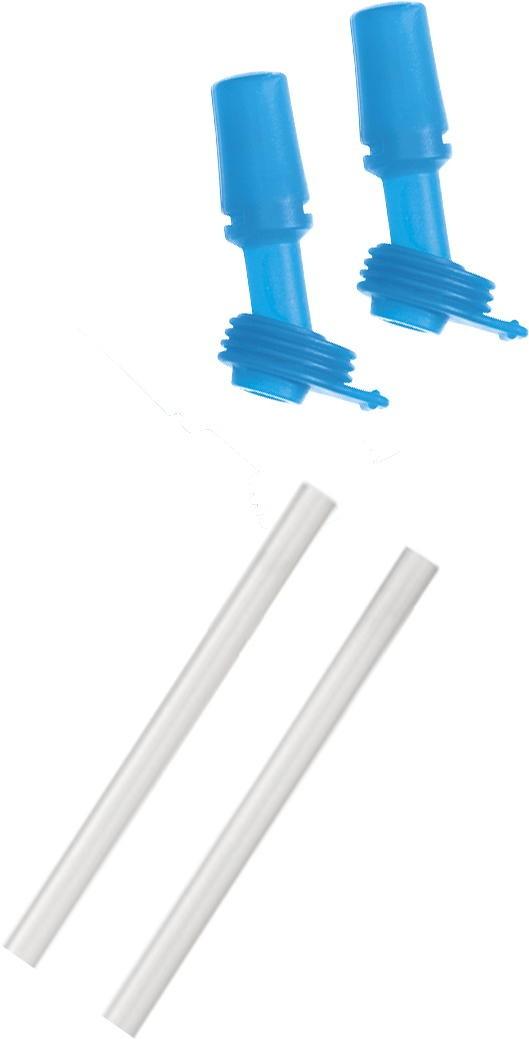 Camelbak Eddy Bottle 2 Bite Valves & Straws - Ice Blue uni