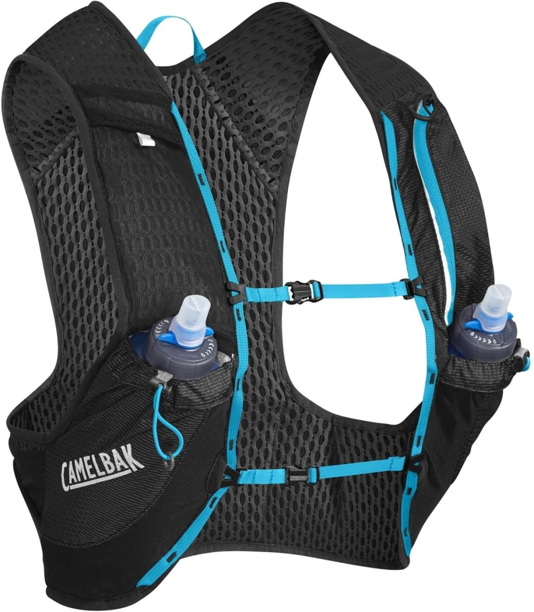 Camelbak Nano Vest - Black/Atomic Blue L