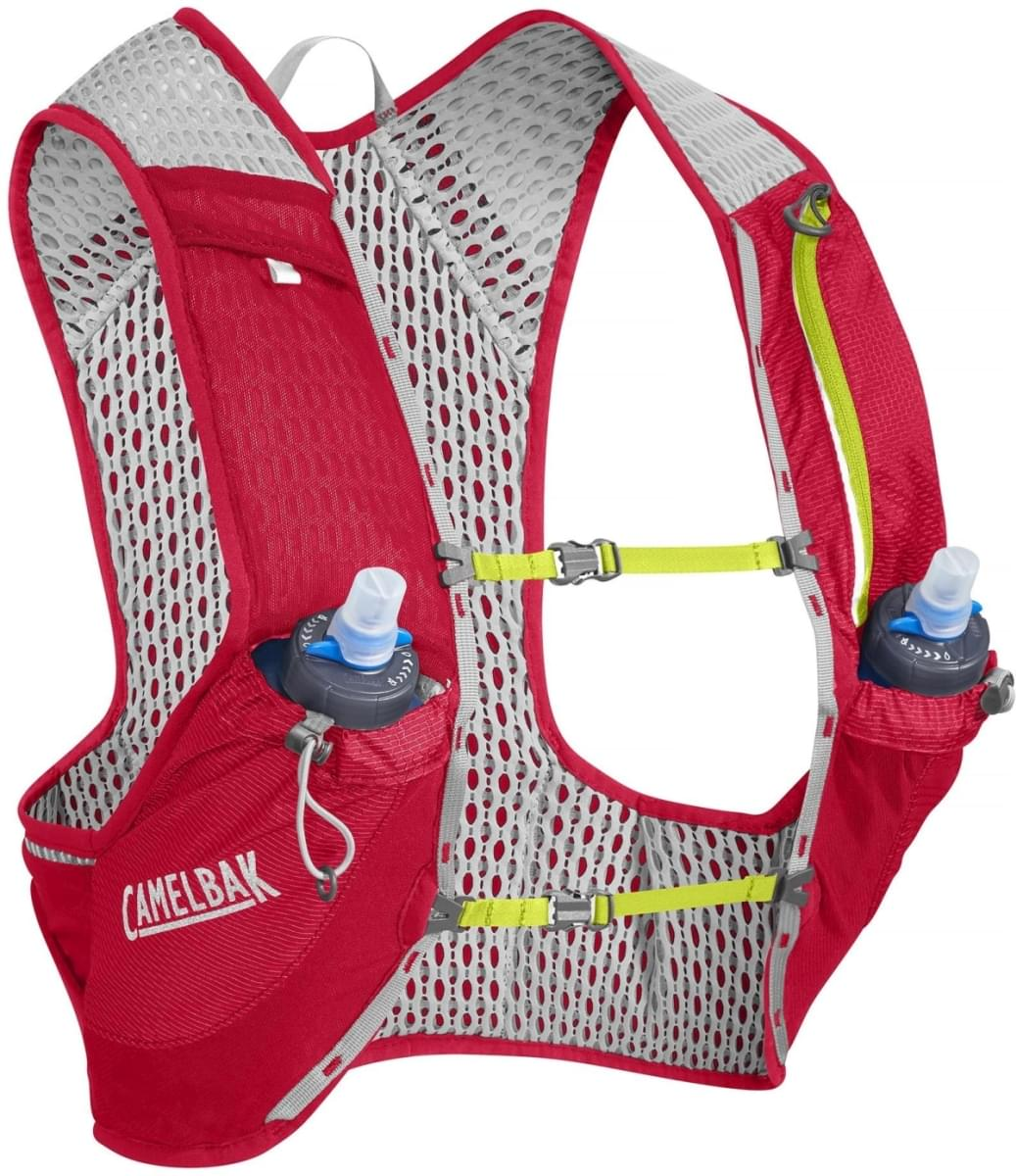 Camelbak Nano Vest - Crimson Red/Lime Punch S