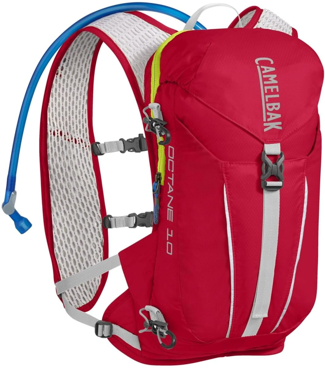 Camelbak Octane 10 - Crimson Red/Lime Punch uni
