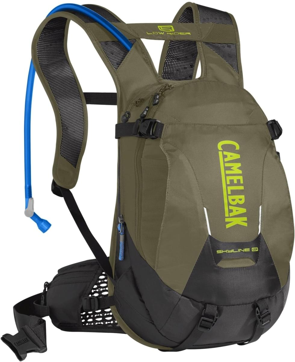 Camelbak Skyline LR 10 - Burnt Olive/Lime Punch uni