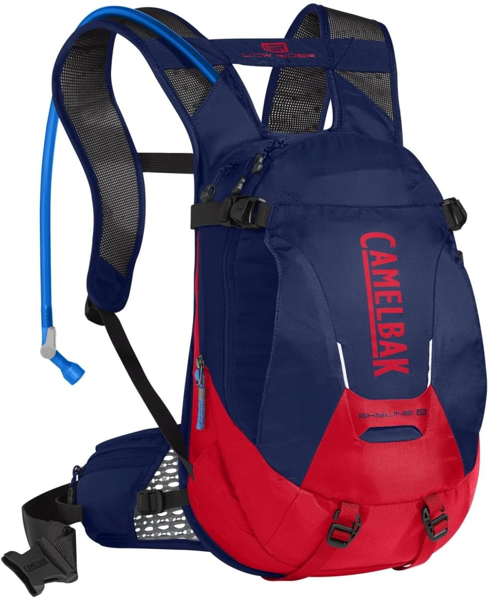 Camelbak Skyline LR 10 - Pitch Blue/Racing Red uni