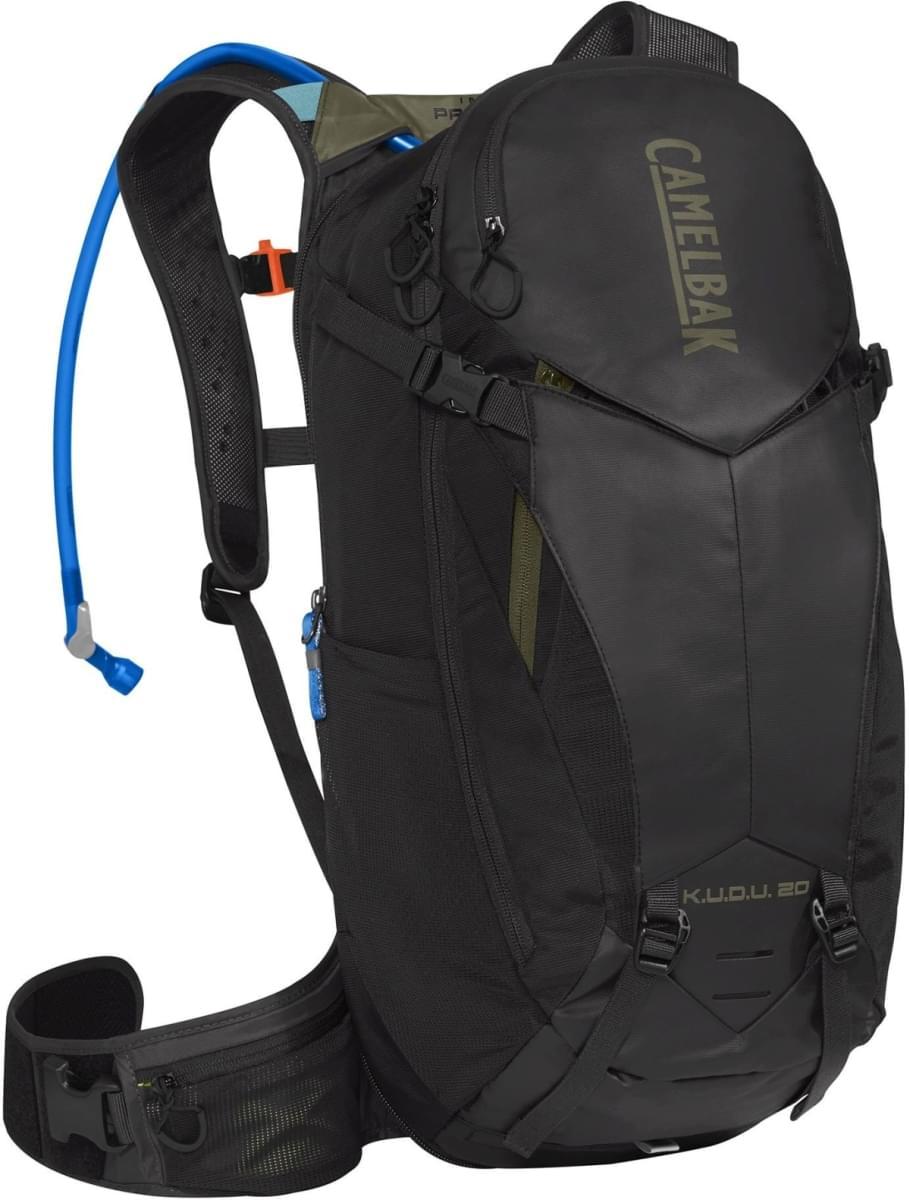 c4e1b81fc Cyklistický batoh Camelbak Kudu Protector 20 - Black/Burnt Olive ...