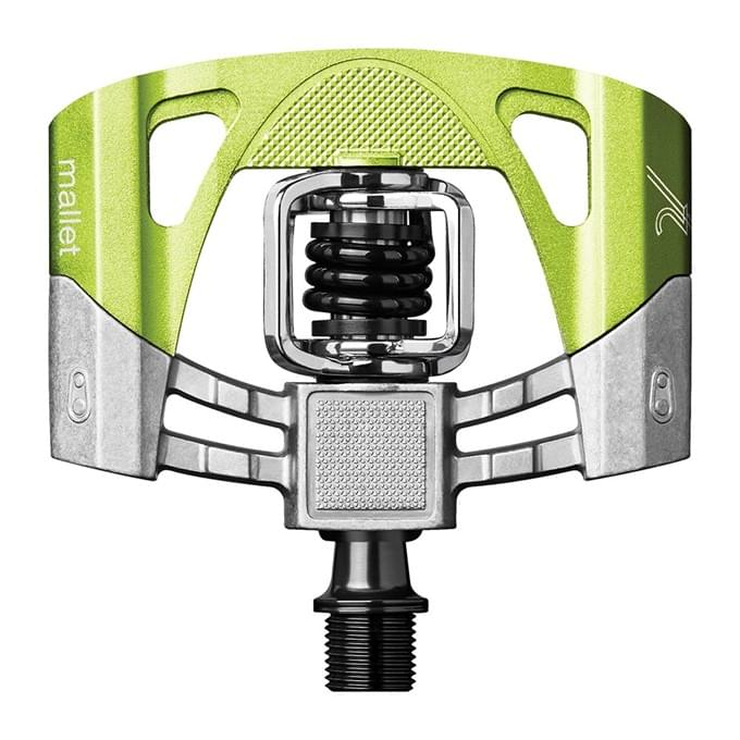Crankbrothers Mallet 2 - electric lime/black uni