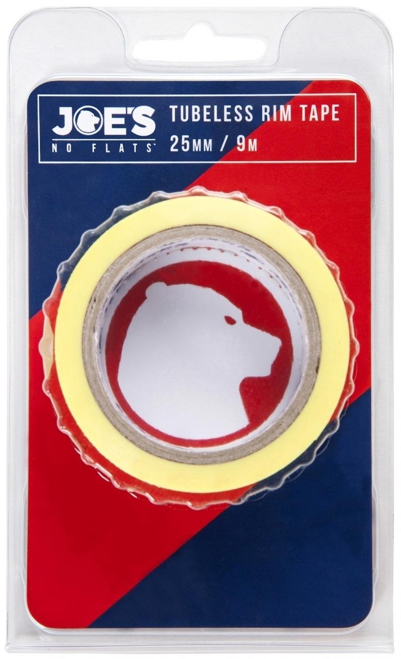 Joes Tubeless Yellow Rim Tape 9mx25mm uni
