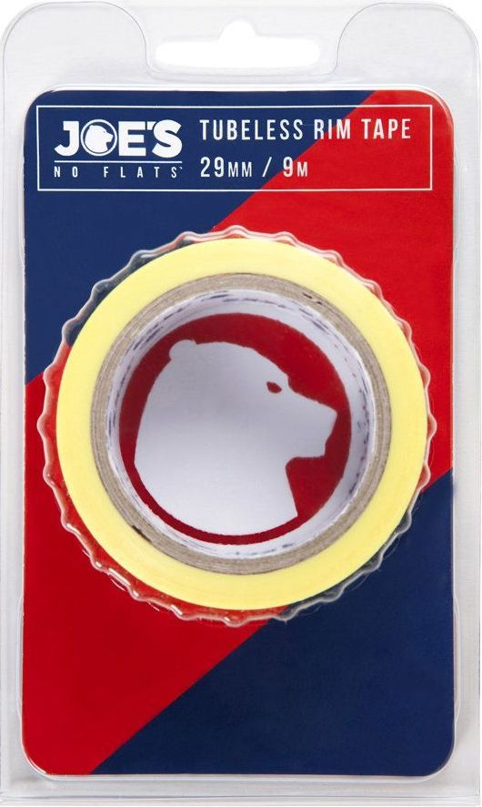 Joes Tubeless Yellow Rim Tape 9mx29mm uni