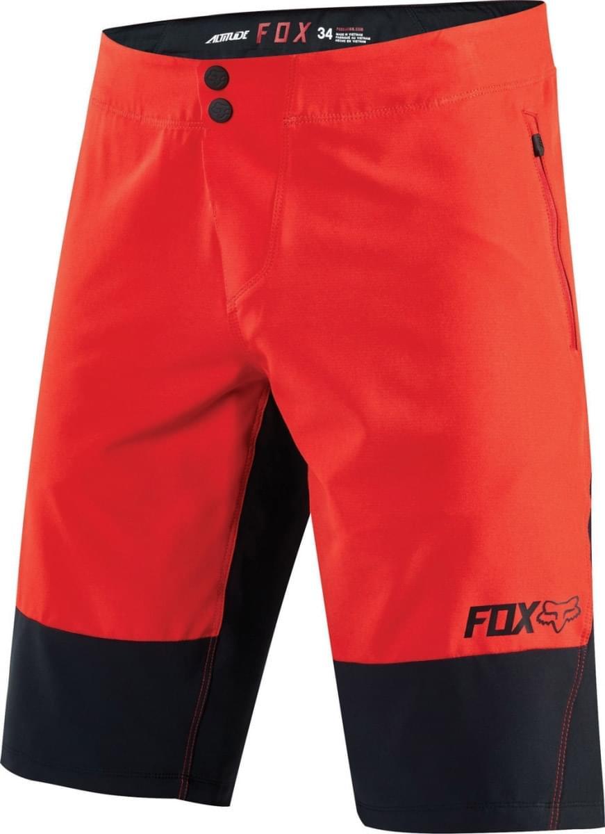 dbd1e849d59 Cyklistické kraťasy Fox Altitude Short - red black - Ski a Bike ...