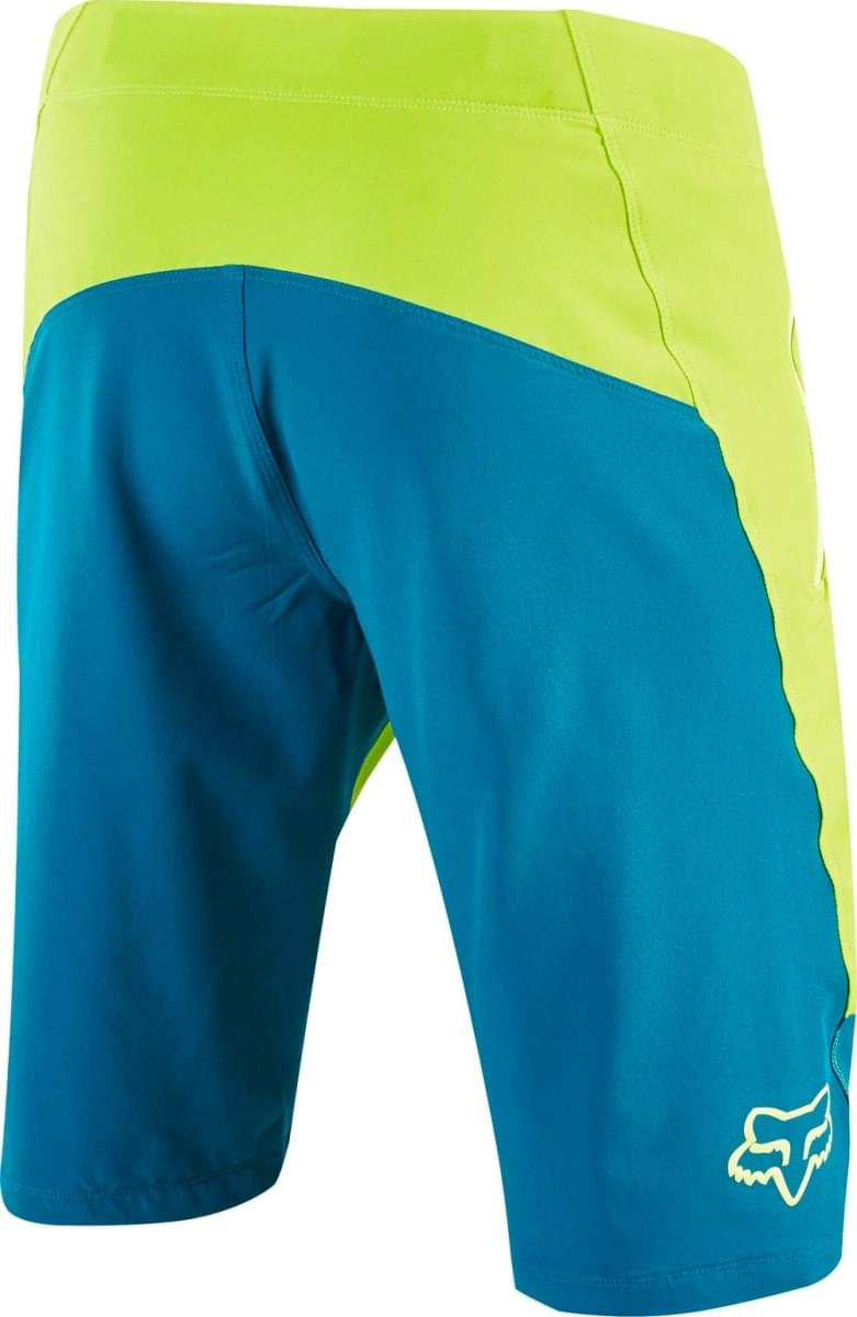 ae1fb077539 Cyklistické kraťasy Fox Altitude Short - teal - Ski a Bike Centrum ...