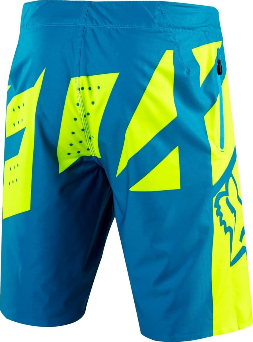 a2b955c8942 Cyklistické kraťasy Fox Livewire Short - teal - Ski a Bike Centrum ...