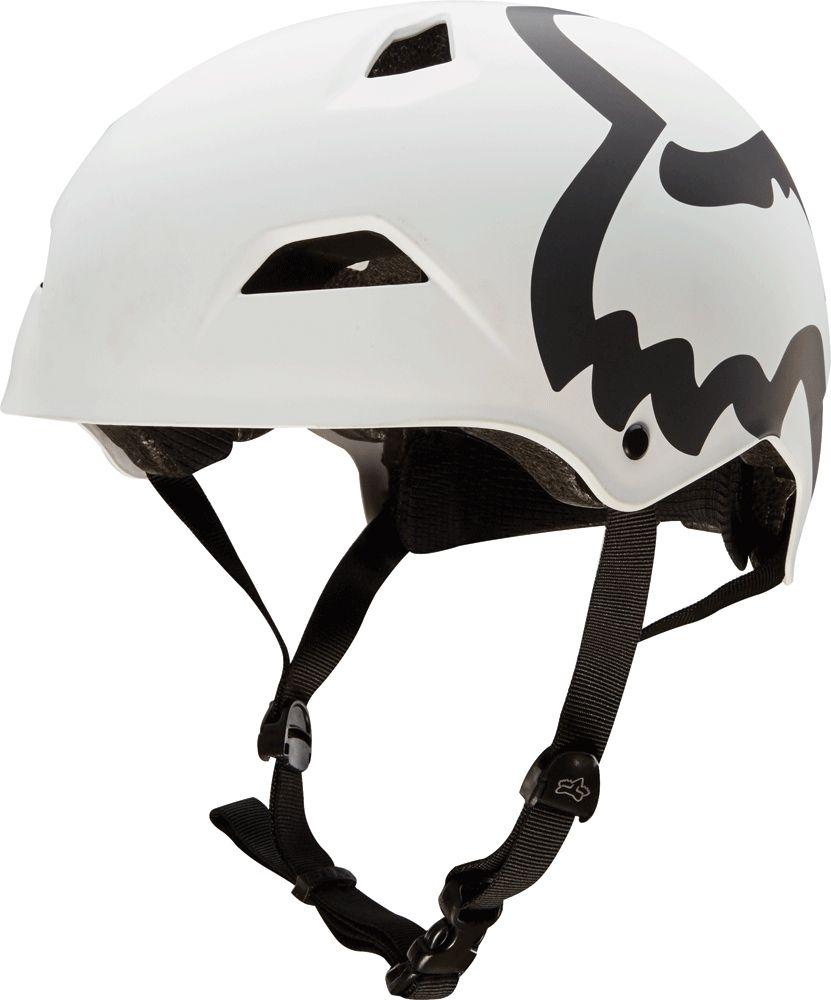 Fox Flight Eyecon Hardshell Helmet - Matte White M