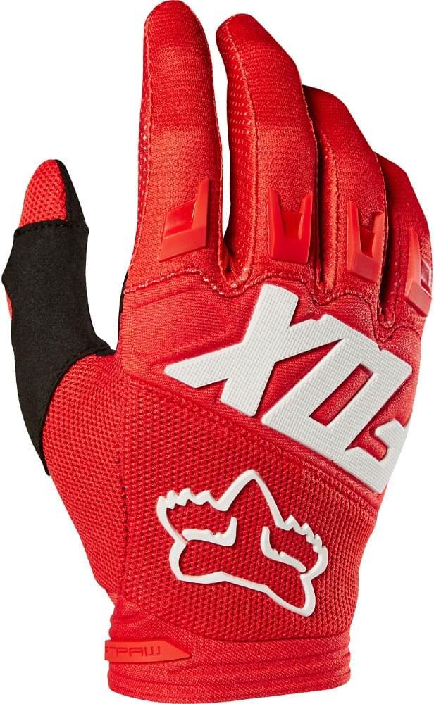 Rukavice FOX Dirtpaw Race červená M 3b858dfb6b