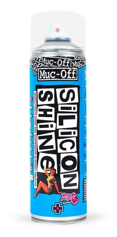 Leštidlo na kolo Muc-Off Silikon Shine 500ml
