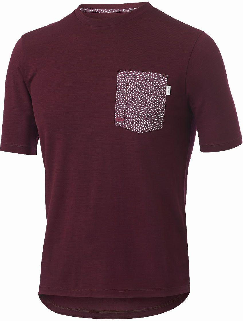 PEdAL ED Kyoto Gravel T-shirt - burgundy M