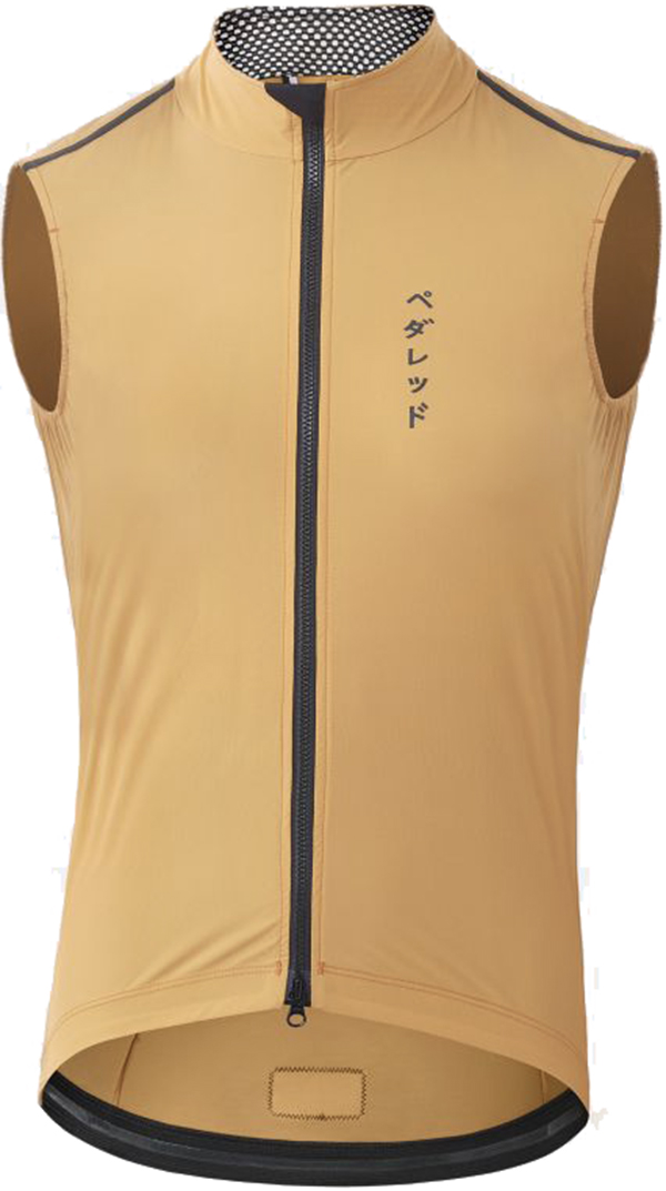 PEdAL ED Mirai All-weather Vest - honey M
