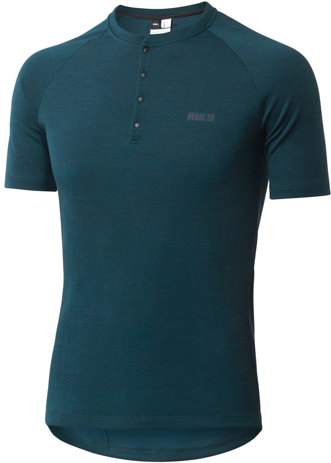 PEdAL ED Jary All-Road Merino Jersey - teal M
