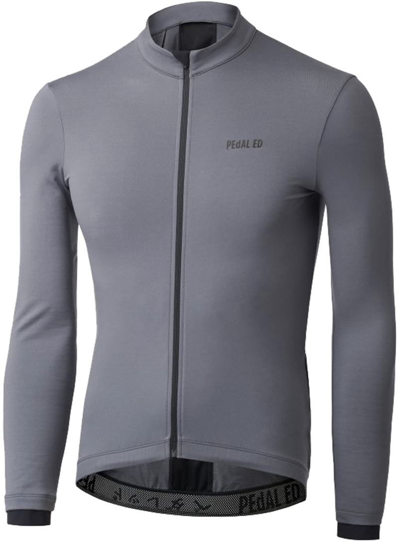PedAL ED Kino Powerwool Jersey - grey L