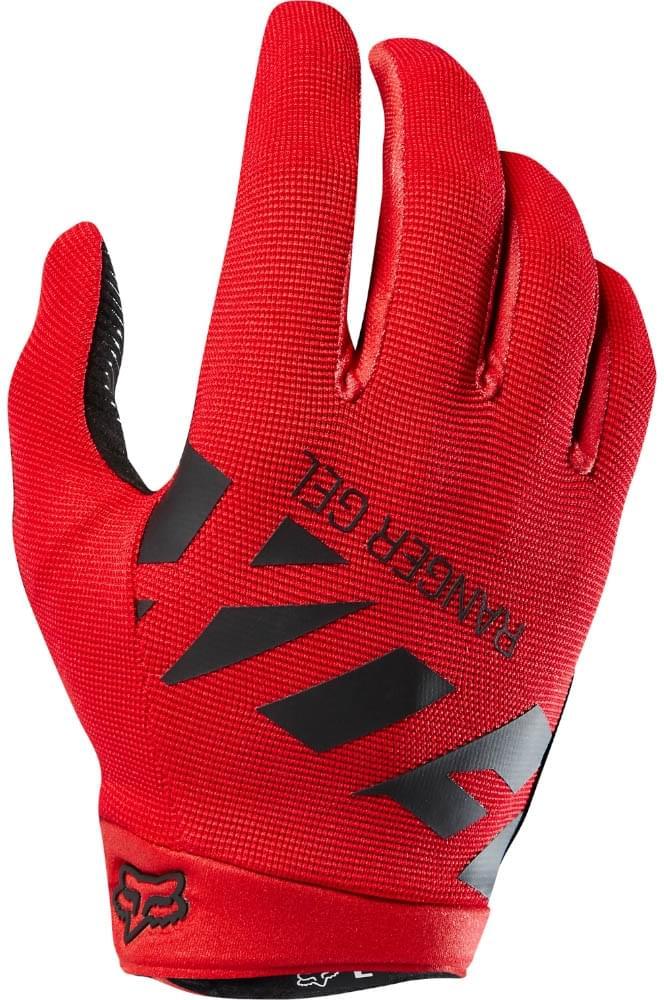 Fox Ranger Gel Glove - bright red XXL