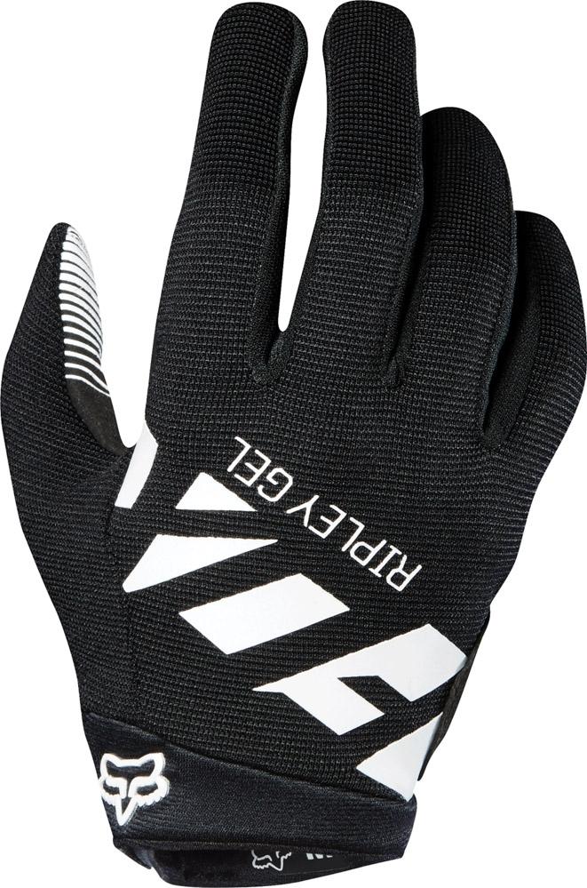 Fox Womens Ripley Gel Glove - black/white L