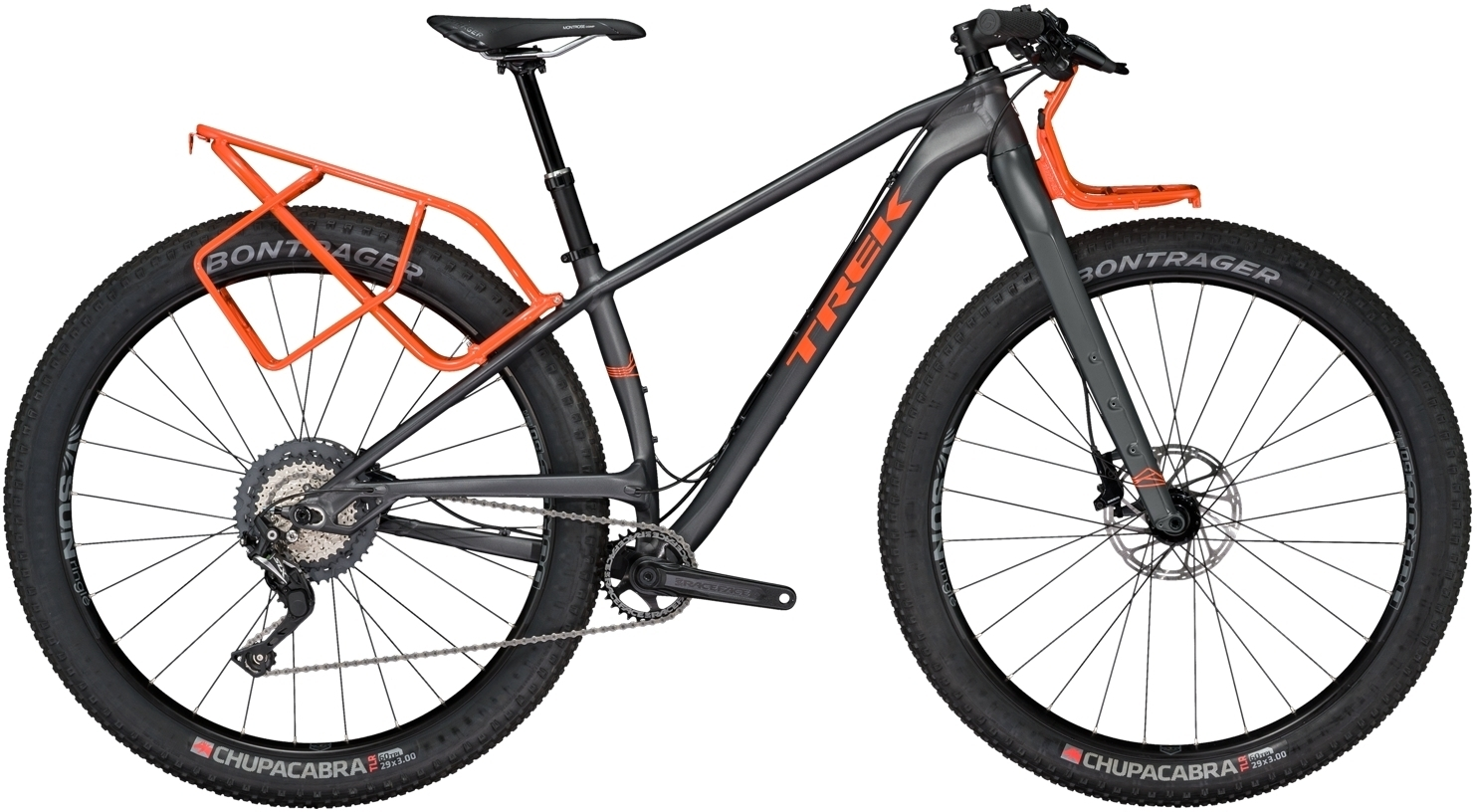 Trek 1120 - Matte Solid Charcoal 15.5