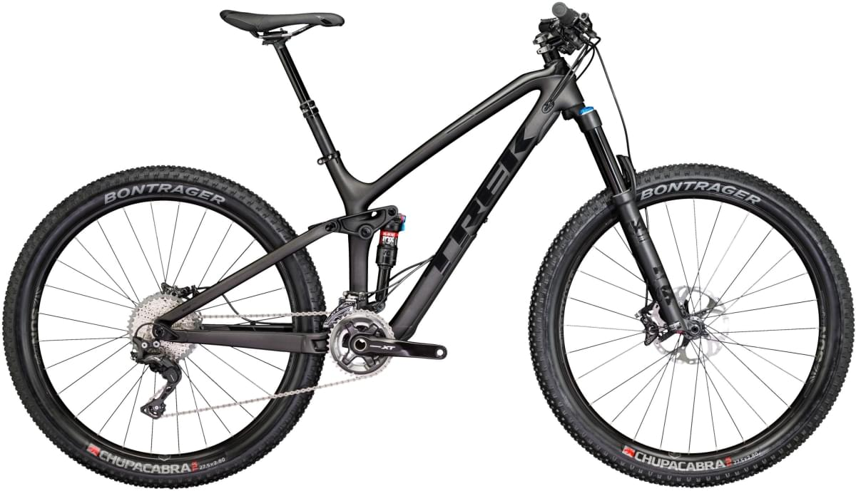 Trek Fuel EX 9.8 27.5 Plus - Matte/Gloss Black 19.5